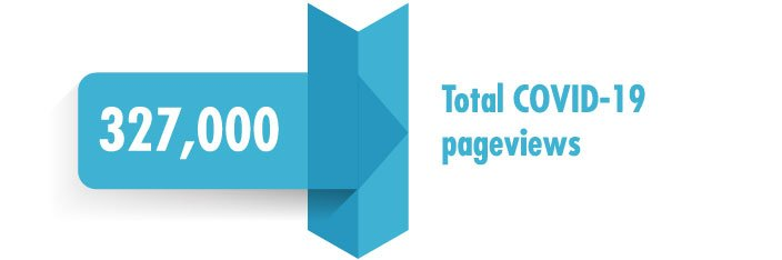 covid-19 pageviews