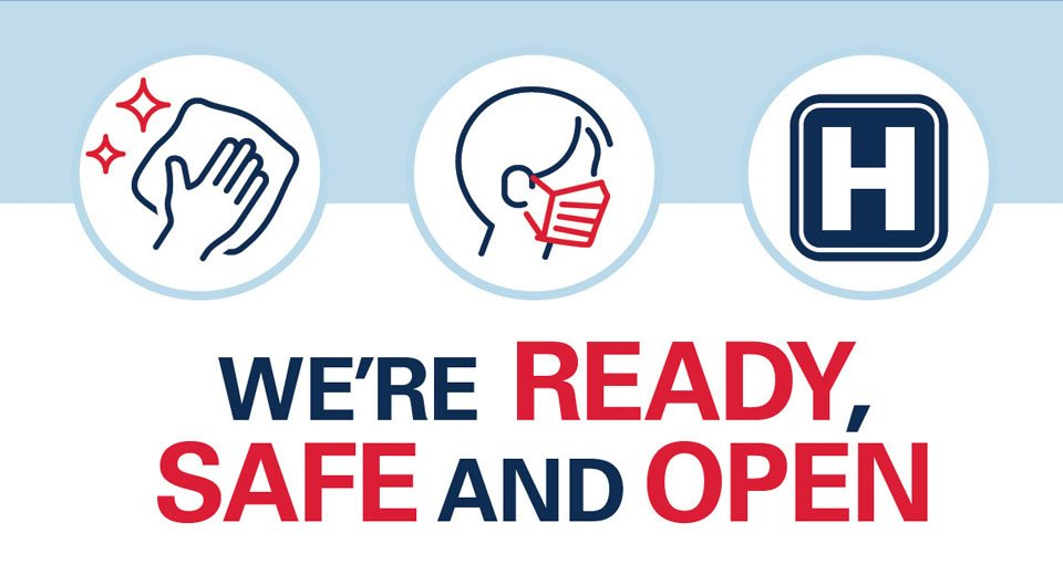 Spread the word: We're safe, ready and open